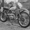 ISDT 1961, Wales -  Greeves – works Six Days Trail machine – ISDT 1961-12 5x10 25