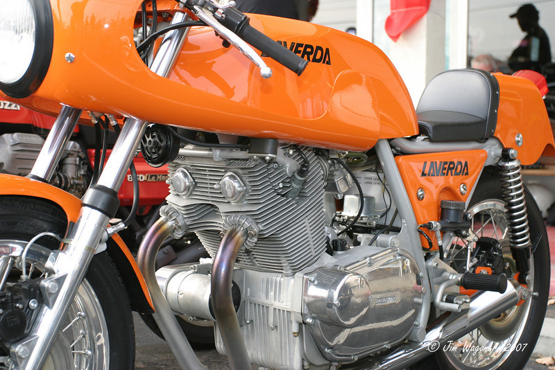 1974 Laverda 750 SFC<br /> owned by George Brown
