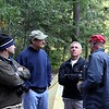 ...discussing the ride in,  the ride tomorrow or some other rid related topic