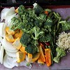 The veggies are ready to enhance the chili