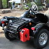 Jay Giese brought a nice sidecar rig from DMC Sidecars