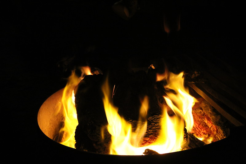 the warming fire