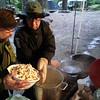 The beginnings of cream of mushroom soup