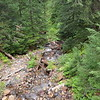 A high mountain creek avout 3400 feet asl