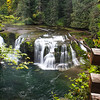 Lower Falls on the Lewis River