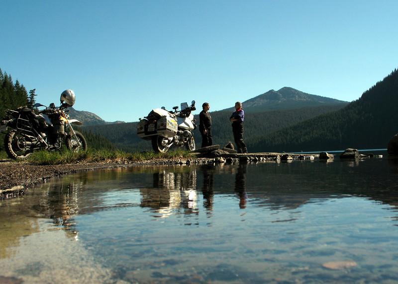 A break at Walupt Lake