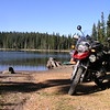 "David ""Mr. Best Rest-Cycle Pump Guy"" rode his R1200GS"