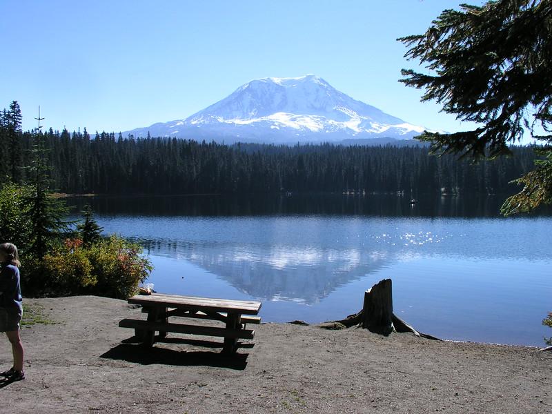 I think we'll camp here next year.
