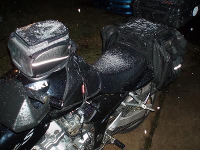 Freezing rain the night of December 10th, 2008