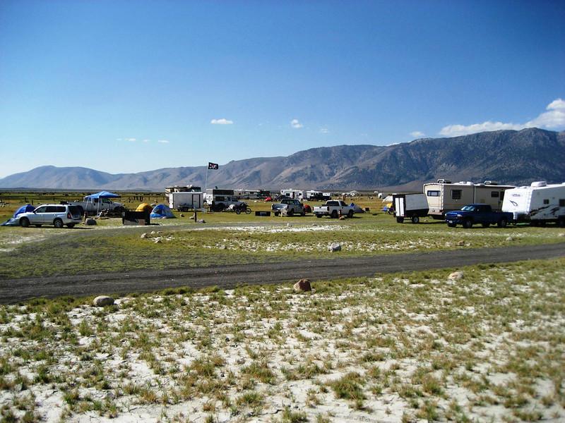 Owens River Valley Campground   Bishop, Ca.