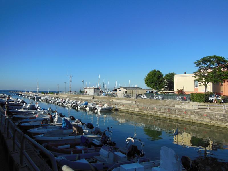 Cattolica harbor