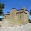 The church at San Leo Castle