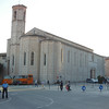 The church in Gubbio