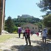 Sharon at San Leo Castle