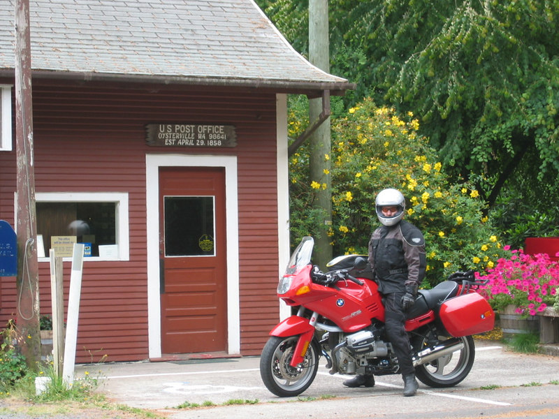 Ride with Krista to Oysterville, WA at the tip of Long Beach Peninsula