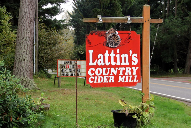 First stop, the Cider farm for some cider and barnyard animal displays.  I picked up a jug of spiced cider.  Yum!