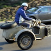 A local rider brought out his 1942 Zundapp to show off .