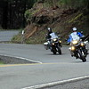 Scott and Karla on the R1200GS's