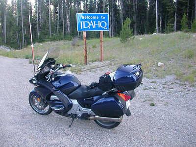 Idaho state line at 43