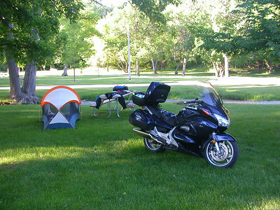 Spearfish campground start of day 2 enroute to CoSTOC