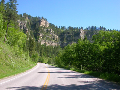 I rode the Spearfish canyon 3 times!
