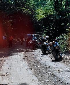 Takin' a short break on the trail