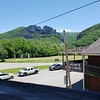 Seneca Rocks from the Front Porch Restaurant