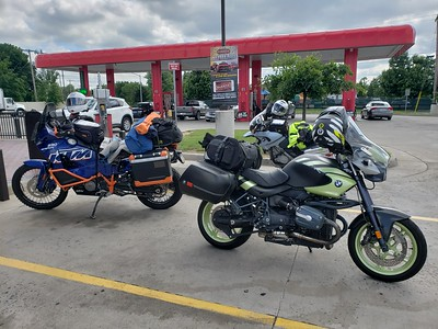 Gas stop in Winchester VA