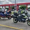 Gas stop in Winchester VA