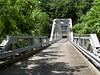 The old New River bridge.