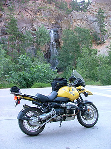 Bridal Veil Falls, Spearfish Canyon; Spearfish, SD