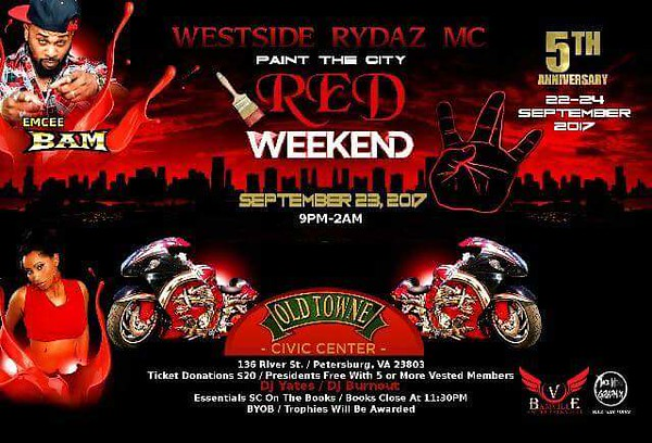 Westside Rydaz VA 5th Anniversary Weekend
