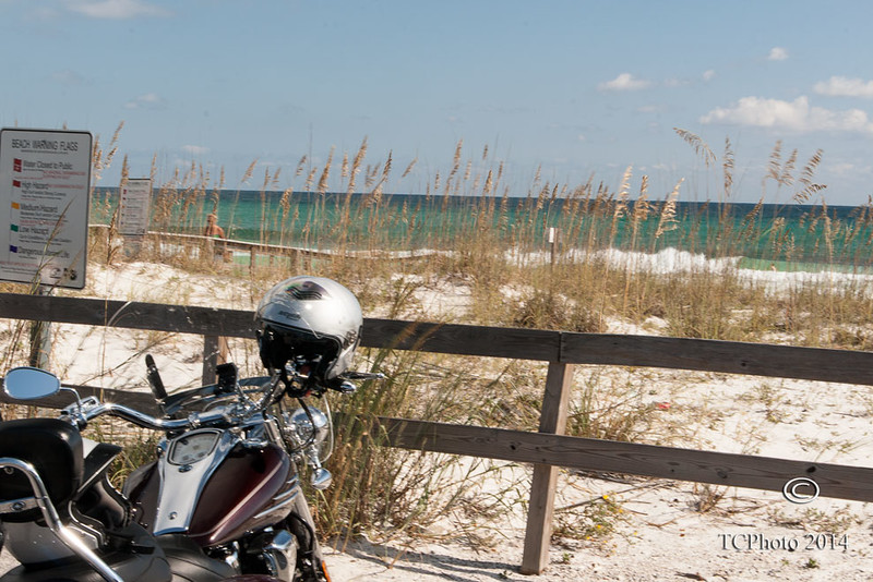 Along Navarre Beach, FL.
