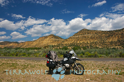 """Riding around Capital Reef National Park"""