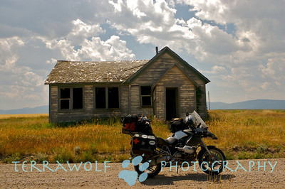 """Abandoned farmstead in Sun Valley, Idaho"""