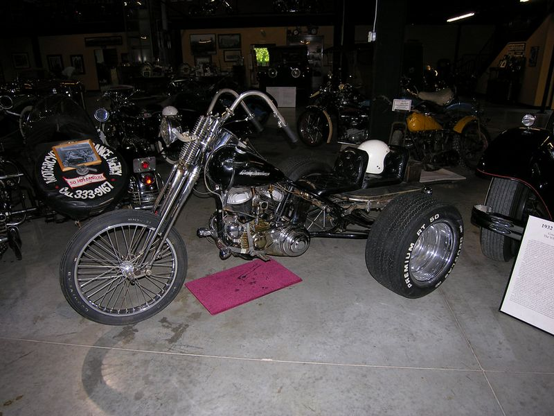 The owner's first trike
