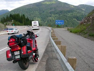 Idaho - I-90 Montana border 7/7/2006 11:21