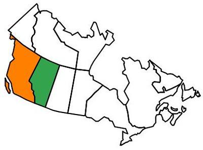 2 Canada map