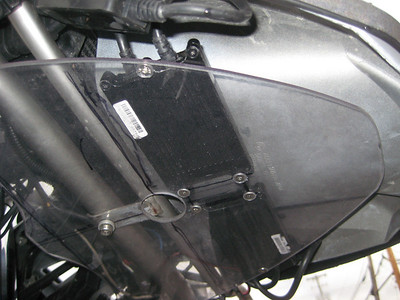 HID Ballast mount
