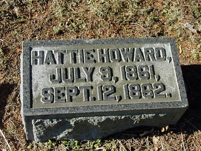 Hattie Howard Died Too Young