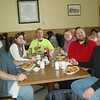 January 31, 2010: Lunch in Purcelville -  Joe,  Jackie, Jacco, Lauren, Joshua and yours truly.