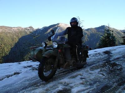 Winter Ural rides