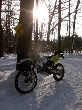 Winter trail ride 7FEB15