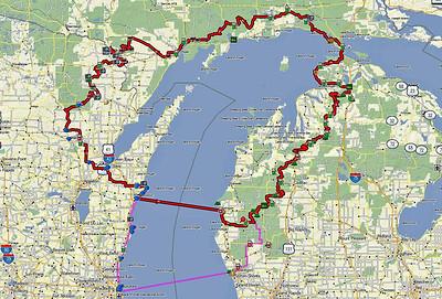 Wisconsin-Michigan Adventure Trail