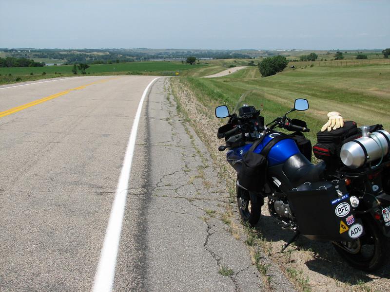 South Dakota back roads, south of Souix Falls, SD