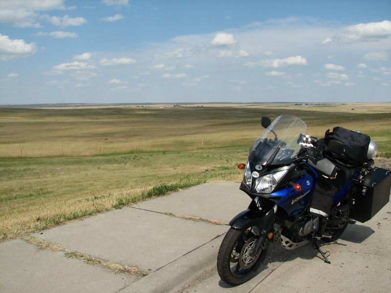 National Grasslands, I-90, SD