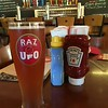 The ride  home required a lunch stop at the Harpoon Brewery! (surprise) for a Rasberry Ale Zinger