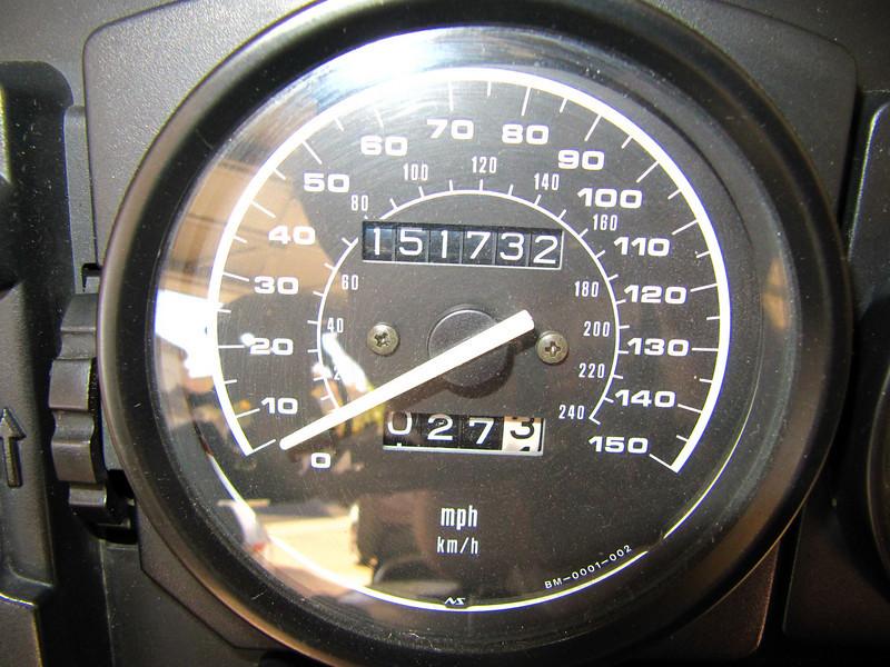 Mileage at 11/29/2009<br /> New rear tire