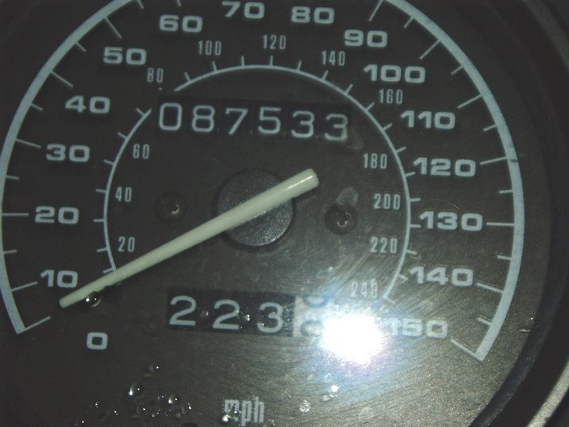 Mileage 02/11/2007