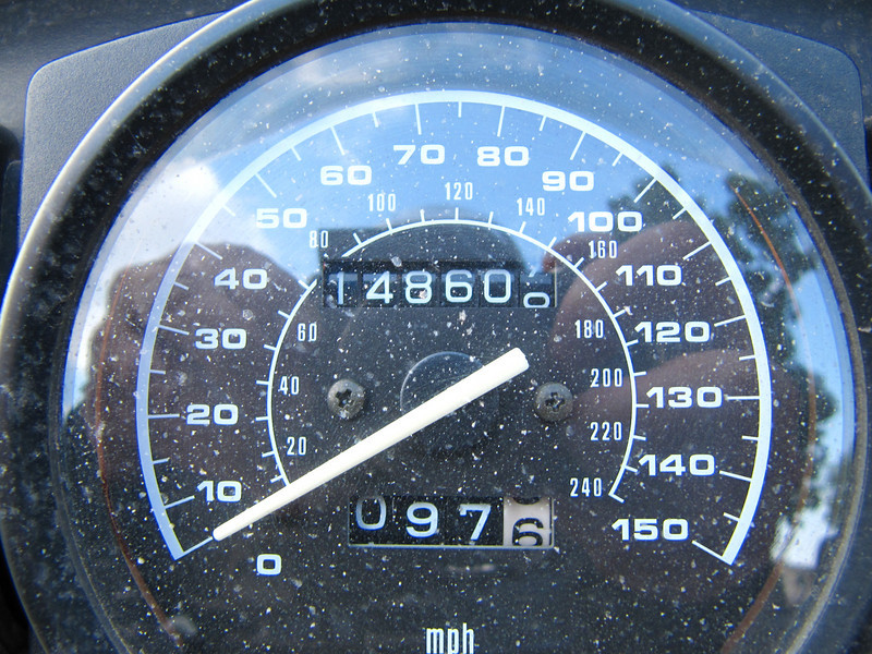 10-07-2009<br /> Wednesday evening odometer<br /> 1,716 miles total<br /> Fish Story